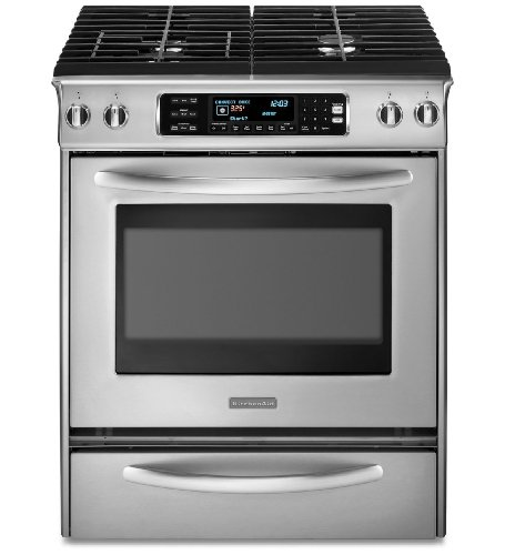 KitchenAid-Architect-Series-II-KGSS907SWH-30in-Slide-In-Gas-Range-with-4-Seale