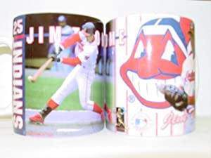 Jim Thome Cleveland Indians MLB Imprinted Ceramic Coffee Mug