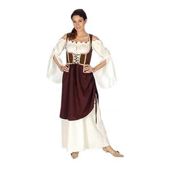 Moyen,Âge , Paysanne Costume Médiéval , Déguisement Femme , 48/50