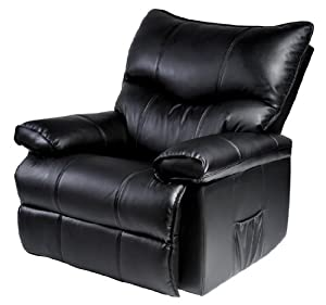Luxury Recliner Reclining Sofa Chair Armchair Arm chair PU ...