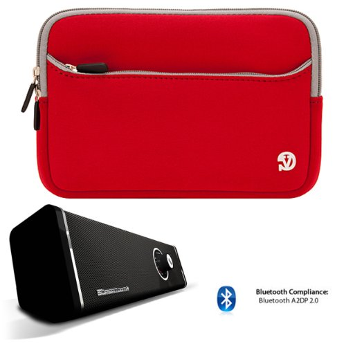 Anti-Scratch Slim Neoprene Sleeve For Hp Slate 8 Plus Android Tablet + Bluetooth Speaker