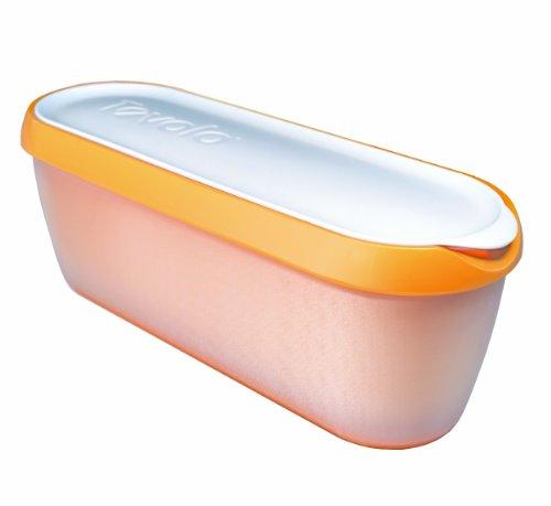 Tovolo Glide-A-Scoop Ice Cream Tub - Orange Crush (Silicone Ice Cream Tub compare prices)