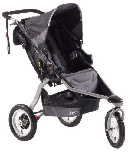 BOB Revolution CE Single Stroller, Black