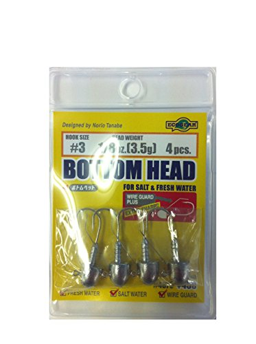 ecogear-bottom-head-3-1-16oz18g-4pcs-japan-import