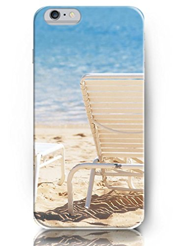 Ouo New Unique Design Hard Cover For 5.5 Inch Iphone 6 Plus Case With Design Of Sling Chairs On The Beach