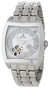 Bulova Women's 96P119 BVA Series Floral Aperture Dial Watch