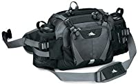High Sierra Diplomat Lumbar Pack (Black, Tungsten) from High Sierra