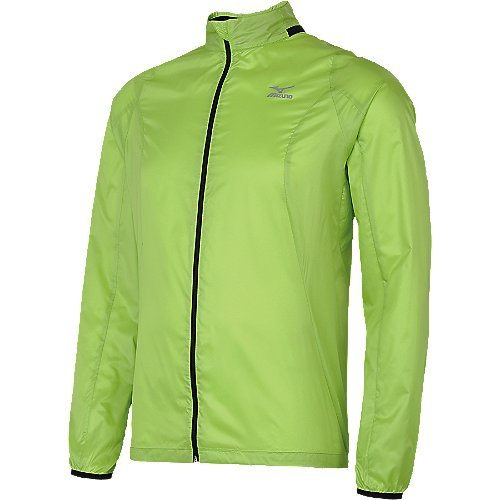 Mizuno Mizuno Men's Cabrakan Jacket, Bright Lime-Black, Medium