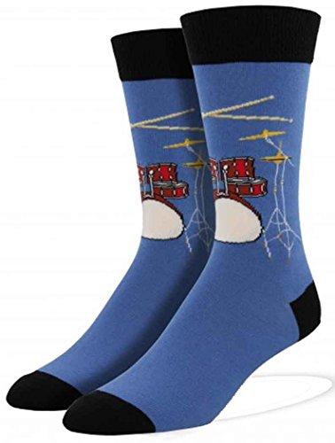 socksmith-mens-drum-solo-novelty-sock-bluefog