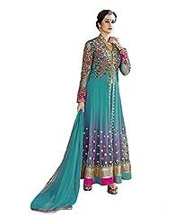 Starword Beautiful Heavy Hitu rama Semi stiched Dress Material High Qualitty