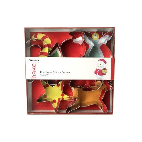 Faringdon Set 7 stampi per biscotti di Natale