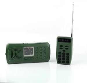 Walsoon CP387 Hunting MP3 Player Bird Decoy Bird Caller Remote Control 20W Speaker+Flashlight