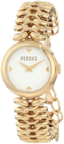 Versus by Versace Women's 3C68800000 Optical Gold IP White Dial Watch