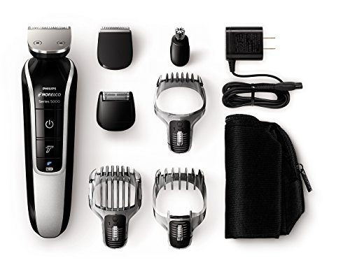 Philips QG3364/49 Norelco Multigroom 5100 Grooming Kit (7 Attachments) (Head Trimmers For Men compare prices)