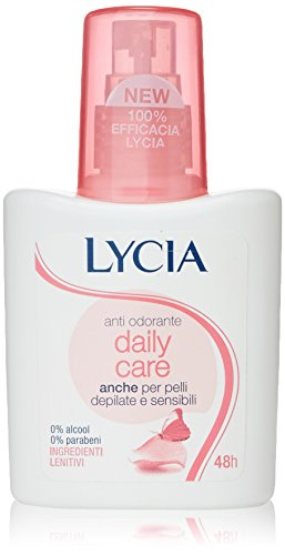 Lycia - Anti Odorante Daily Care, Ingredienti Lenitivi - 75 ml