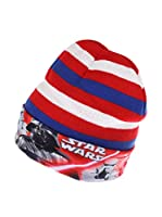 Star Wars Gorro Lightsaber Stripe (Azul / Rojo)