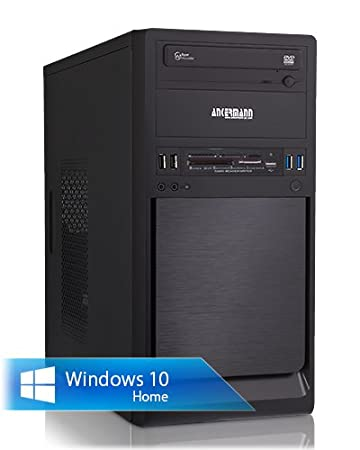 Ankermann-PC Office Winner, AMD FX-4300 4x 3.8 GHz Turbo: 4.00GHz, MSI GeForce N730 4GB DDR3, 8 GB DDR3 RAM, 1000 GB Disque Dur, Microsoft Windows 10 Home 64Bit, Card Reader, EAN 4260219652681