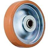 イノアック車輪:イノアック 中荷重用キャスター ログラン(ウレタン)車輪のみ Φ150 P-150W 型式:P-150W