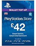 PSN CARD 42 GBP WALLET TOP UP [PS4, PS3, PS Vita PSN Code - UK account]