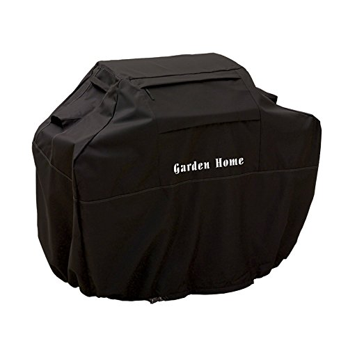 "Best Deals! Garden Home Heavy Duty 72"" Grill Cover (Black, 72inch)"