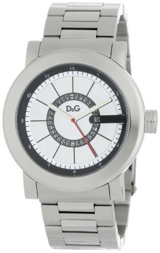 Dolce & Gabbana DW0723 - Reloj de pulsera hombre, acero inoxidable, color plateado
