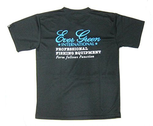 Evergreen T-Shirt Dry Fit Short Sleeve C-Type Size M Black (9597)の商品画像