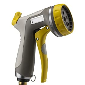 Nelson Rezimar Front Trigger Five-Pattern Spray Nozzle with Flow Control 50115