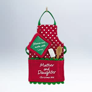 Making Mother Daughter Memory 2012 Hallmark Ornament