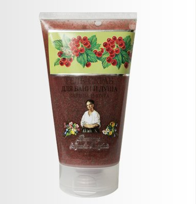 Gel Scrub for Bath and Shower with Viburnum and Mint 150 Ml
