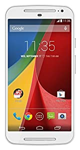 Motorola Moto G (2nd generation) Unlocked Cellphone, 8GB, White
