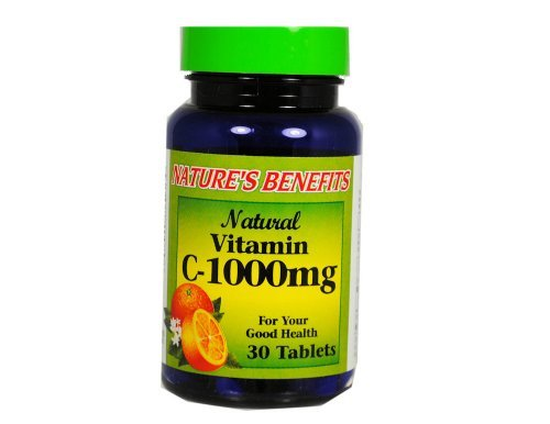 Vitamin C 1000Mg 30 Tablets Daily Supplement Natural