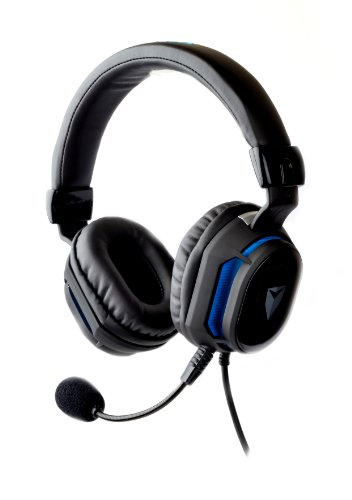 Ifrogz Cal-Axiom Caliber Axiom Universal Gaming Headphones With Mic For Pc/Play Station/Xbox, Black