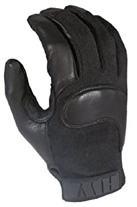 HWI Gear CG100B Berry Compliant Combat Gloves, X-Small, Black