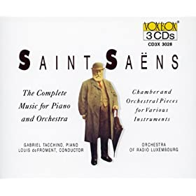 Saint-Saens: Music for Piano and Orchestra (Complete)