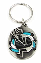 Pewter Key Ring - Kokopelli - Pewter Key Ring - Kokopelli