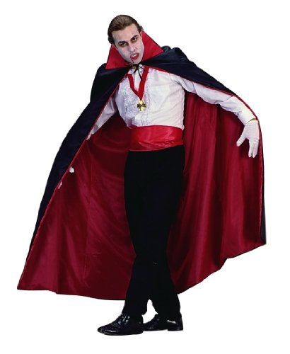 Adult 56 Reversible Dracula Cape Costume Accessory""
