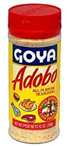 Goya Foods Adobo with Pepper, 12-Ounce (Pack of 24)