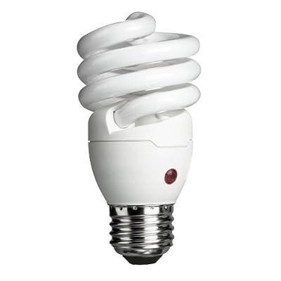 Dusk to Dawn Energy Saver CFL Light Bulb (60 Watt) Single & Multi Packs