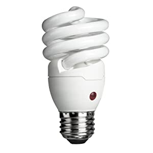 Philips 429746 Energy Saver Compact Fluorescent Dusk-to-Dawn 14-Watt Twister Light Bulb