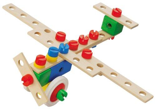 Imagen principal de HEROS 100030012  - Set básico de construcción de madera (38 piezas) [Importado de Alemania]