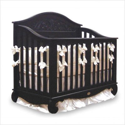 Bratt Decor Chelsea Lifetime Crib in Espresso