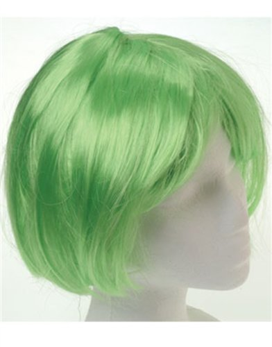US Toy - Mod Wig/Green, 1/Package