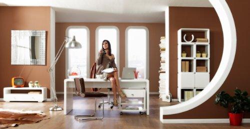 Kare-74181-Design-White-Club-Schreibtisch-180cm-Hochglanz-Wei