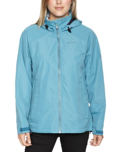Craghoppers Vision Women's Waterproof Jacket - Pale Teal, Size 14