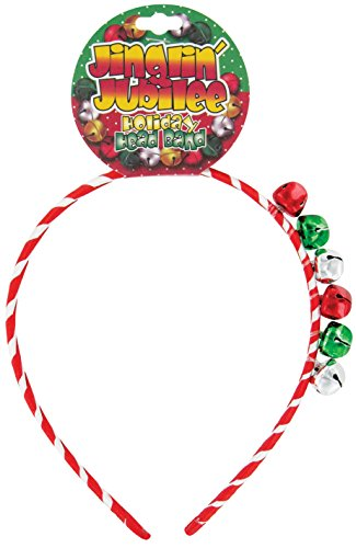 Jinglin' Jubilee Holiday Head Band, 1 Piece, Styles May Vary