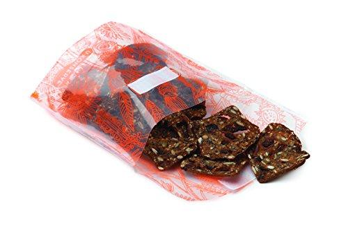 U Konserve Food Kozy Snack Bag, Neon Orange - 1