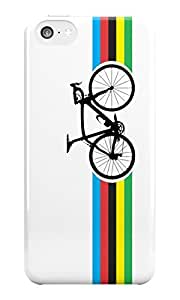 The Fappy Store Bike Stripes World Road plastic back cover for iphone 5c