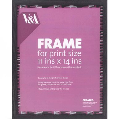 V&A Box Picture Frame (11x14 inches) (Black)||EVAEX