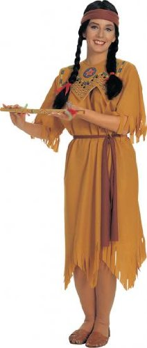 Rubies Fancy Dress - Pocahontas Ladies Adult Costume - Size: One Size