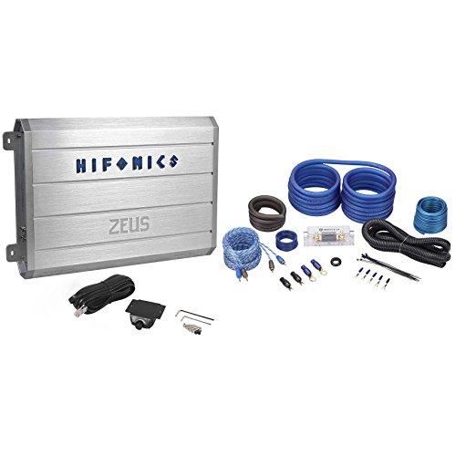 Hifonics ZRX1816.1D 1800 Watt RMS Monoblock Amp Class D Amplifier + Wiring Kit (Hifonics D Class Amp compare prices)